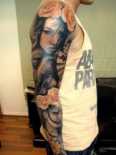 45 Famous Portrait Tattoos - Awesome Realistic Photos