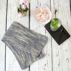 """We have two new FREE patterns for cowls, perfect for single skeins! This one is the Knitted Drop…"""