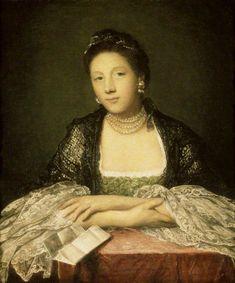 Joshua Reynolds - Catherine 'Kitty' Fisher, Later Mrs Norris 1759