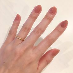Gel manicure using - Kiara Sky: Nude Swings by Nicole Tanning & Nails Minimalist Nails, Nude Nails, Acrylic Nails, Pink Nails, Hair And Nails, My Nails, Nagel Gel, Mani Pedi, Gel Manicure