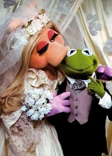 miss piggy as bride