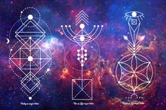 Sacred geometry involves sacred universal patterns used in the design of…