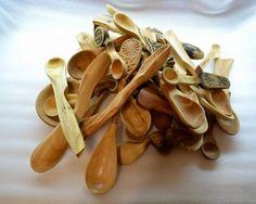 Різьблення по дереву - ложки / Woodcarving - spoons / Резьба по дереву - ложки