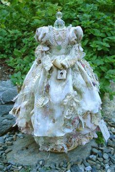 Star Feather Farm art dress shabby