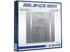 Balança Digital c/ Medição de Massa Corporal - Memória até 10 Usuários - Kikos Ison com as melhores condições você encontra no Magazine Saldanhacialtda. Confira!
