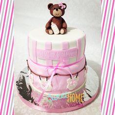 Torta osita Baby shower! 🐻🎀 Baby shower cake