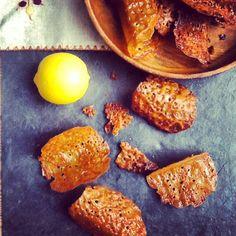 Louises køkken: Sprøde citronkager