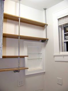 Seesaws and Sawhorses: Pantry Shelves: Done!