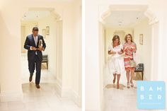 I love this brides short dress!!   Mark + Lia   married » Bamber Photography