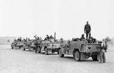 LONG RANGE DESERT GROUP LRDG DURING SECOND WORLD WAR (HU 16614)