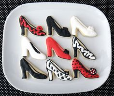 Love these shoes by WorthPinning - 1st time using royal icing too!!