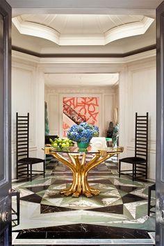 LUXURY DECOR |Kelly Wearstler interior design project | bocadolobo.com/ #modernentryway #entrywayideas