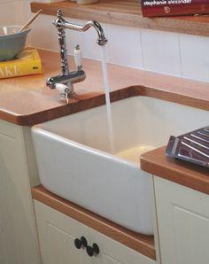 Butler Sink- Fireclay - 250mm Deep Without Overflow  $489 online