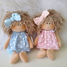 Best 12 Hand made Personalized Gifts – Puppet – Wedding Favors, Baby Favors, Dolls … Doll Clothes Patterns, Doll Patterns, Doll Carrier, Pink Doll, Sewing Dolls, Fairy Dolls, Soft Dolls, Doll Crafts, Doll Face
