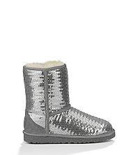 UGG® Official | Kids' Classic Short Sparkle Wave Footwear | UGGAustralia.com