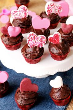 Be my valentine mini cupcakes #recipe