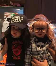 Wayne & Garth from Wayne's World - Halloween Costume Contest via @costume_works