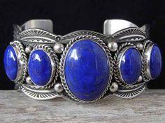 Guy Hoskie Lapis Lazuli Graduated Row... at Chacodog.com