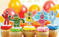 Amazon.com: Decopac Yo Gabba! Cake Toppers Party Supplies: Toys & Games