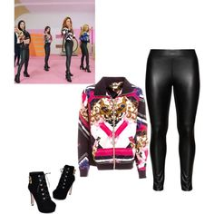 Dal Shabet - Someone like you by mikaeylamarqueshia on Polyvore featuring polyvore, fashion, style, Studio, JY Shoes, women's clothing, women's fashion, women, female and woman