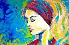 'MISS MIAMI' by Missy M Contemporary Art for Sale - ART101 Art Gallery & Framing