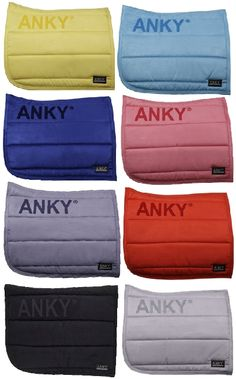 ANKY Saddle Pad new colours for Spring Summer 2014
