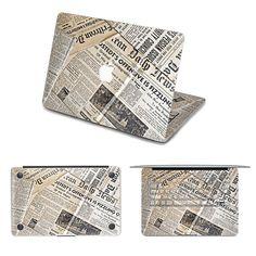 Newspaper macbook decal pro sticker laptop by freestickersdecal, $59.99