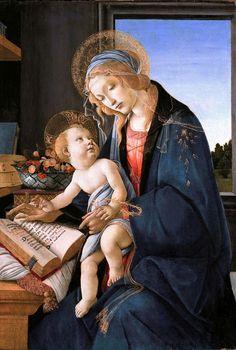 Madonna del libro   Misure: 60x90