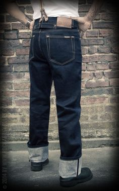 Rumble59 - Raw Selvage Denim - Greasers Gold Limited