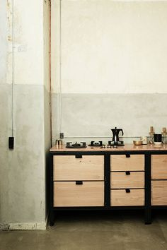 like the marble and the ABK cooking hubs. don´t know about the front and the steel.. Frama Studio Kitchen Case No. 1