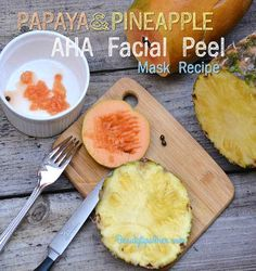 Homemade AHA Facial Peel Mask Recipe forward a Fresh, Bright Complexion | Beauty and MakeUp Tips