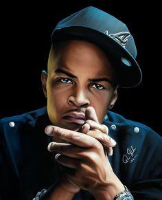 Hip Hop Artists | HipHop Artist, Actor TI by ~LetMePaintU on deviantART