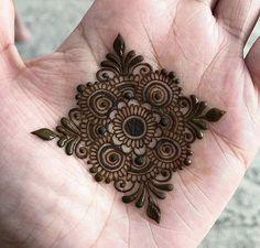 Collection of creative & unique mehndi-henna designs for girls Mehndi Designs For Kids, Henna Tattoo Designs Simple, Finger Henna Designs, Basic Mehndi Designs, Mehndi Designs Feet, Henna Art Designs, Mehndi Designs For Beginners, Mehndi Simple, Mehndi Designs For Fingers