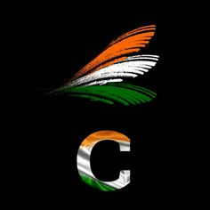 Independence Day Indian Alphabet Flag Letter S Tiranga Profile