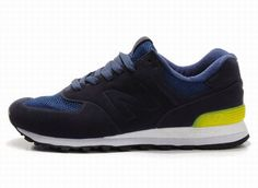 Joes New Balance MS574NY Deep Blue Yellow Sonic Mens Shoes