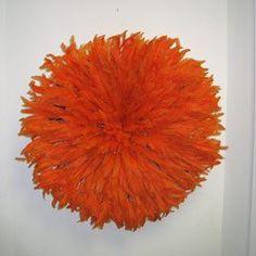 African Feather Headdress - Orange Artisans in Cameroon http://www.amazon.com/dp/B004RYZQTU/ref=cm_sw_r_pi_dp_XXm8vb0SDSYV0
