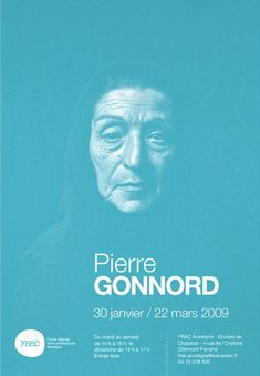 Pierre Gonnord exhibition poster