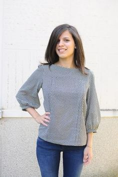 Mathilde Blouse - Tilly and the Buttons