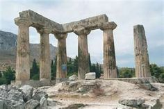 stop Nauplia, Greece. Corinth Greece, Ancient Greece, Dream Vacations, Pergola, Spirituality, Outdoor Structures, Spaces, History, Stone