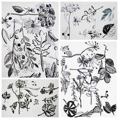 Wall | VK Miguel Angel, Art Club, Art Techniques, Ink, Wall, Artist, Plant, Flowers, Artists
