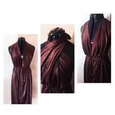 DIY DRESS MADE BY SOFIE KIMMAN  DIY - DO IT YOURSELF - DRESS - HALTERNECK  - EASY - MAXI