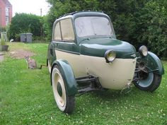 Picture of a reyonnah microcar in the Motorbase gallery of car pictures.