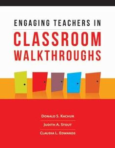 Free study guide for Engaging Teachers in Classroom Walkthroughs