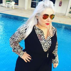 Bom findi a todos #inspiration #itgirl #cabelodivo #perfecthair #plussize #oculosespelhado #t0pbloggers #whitehair #fashionista #fashiongram #instagrammer #blogueira #blogueiras #plussize #fashionaddict #lookbook #euamomoda #moda #lookdodia #ootd