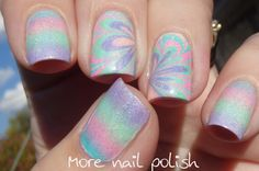 SuperChic Lacquer Serendipity watermarble