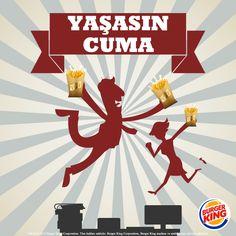 Cumanın heyecanı bir başka! Hafta sonunun gelişini Patatesin Kralı ile kutla!  #PatatesinKralı