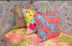 Lilly pillows