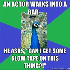 If this is not the truest thing ever, you lie! I did this so many times during Le Mis.