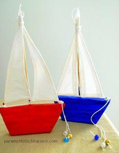 Καραβάκια από πηλό! Boat Crafts, Diy Crafts, Christmas Crafts For Kids, Christmas Diy, Greek Culture, Air Dry Clay, Baby Room Decor, Xmas Decorations, Decoupage