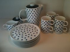 1960s Melitta Espresso Lunch Set